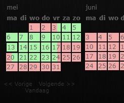 boekingskalender